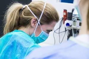 Tierarzt Besserer · Operation