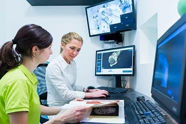 Tierarzt Besserer Neuss · Befundung CT